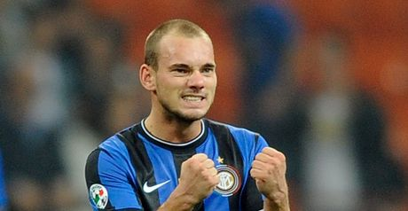 Sneijder: No Real deal
