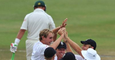 Broad: Six wickets in the match