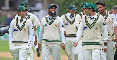 Pakistan strolled to victory in Wellington