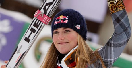 Vonn - set to be America&#39;s golden girl.