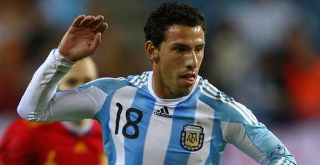 Rodriguez: At the double for Argentina