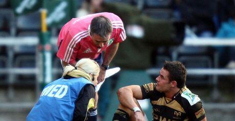Byrne: foot injury