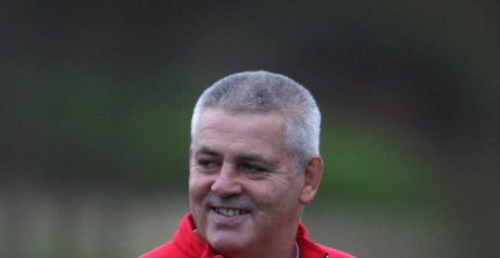 Gatland: All smiles for Wales coach