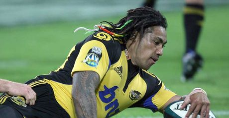 Nonu: Crossed in the closing stages for Hurricanes