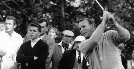 Arnold Palmer in action