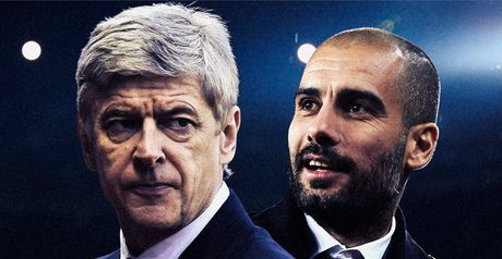 Wenger and Guardiola: Rivals with mutual respect ahead of kick-off