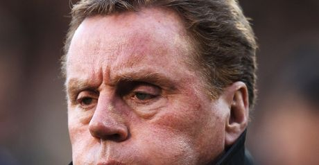 Redknapp: Baffled by boo-boys