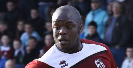 Akinfenwa: At the double for Cobblers