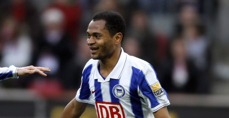 Raffael: Netted late on to hand Hertha all three points