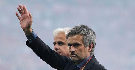 A heartfelt goodbye from Mourinho?