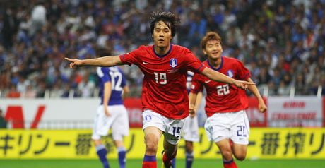 Park Chu-young: Scored second