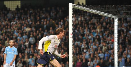 Crouch: Scored one of the most important goals in Tottenham's history