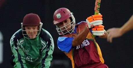 Sarwan: named in West Indies squad