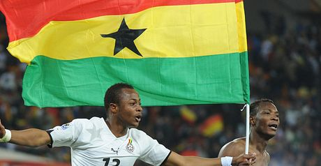 Ayew: Flying the flag