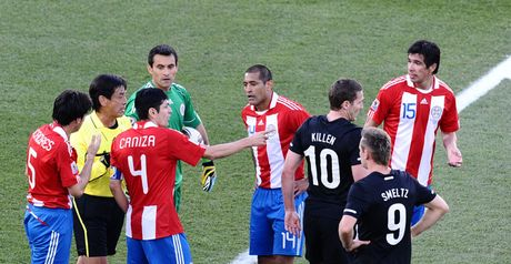 New Zealand: Denied by Paraguay