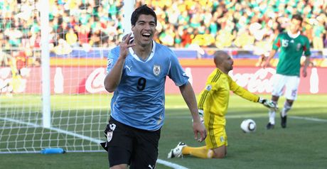 Suarez: Opened his World Cup account