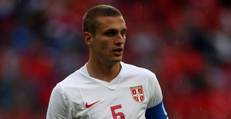 Nemanja Vidic: Has retired from international football with Serbia