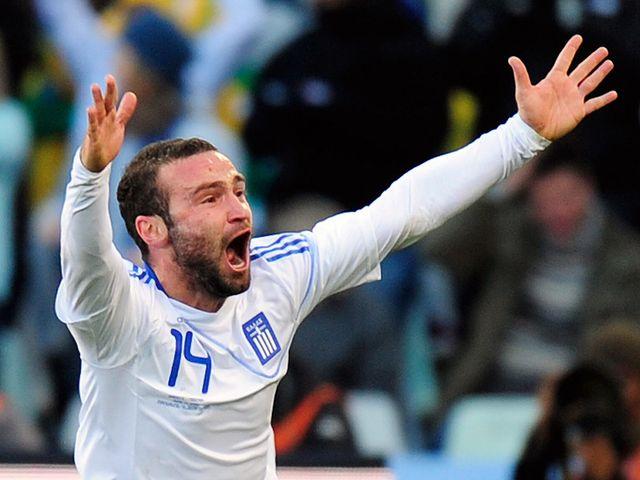 Dimitris Salpingidis: Struck the only goal of the game