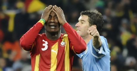 Gyan: Vowing to bounce back