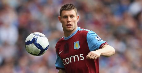 Milner: Named in squad