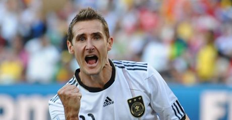 Klose: Aims to equal record