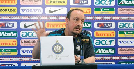 Benitez: Tactical changes