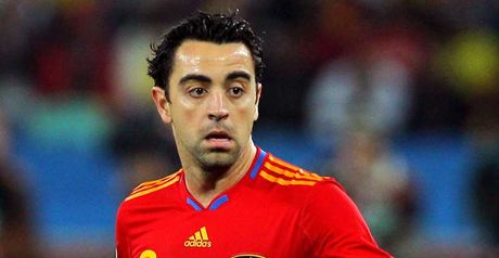 Xavi: Out injured