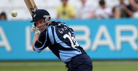 Gale: led from front with second one-day hundred for Yorkshire