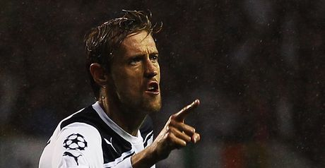 Crouch: Hat-trick hero