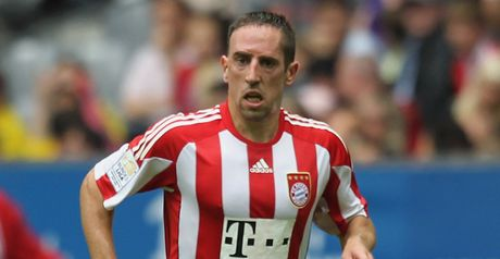 Ribery: Endured troubled 2010