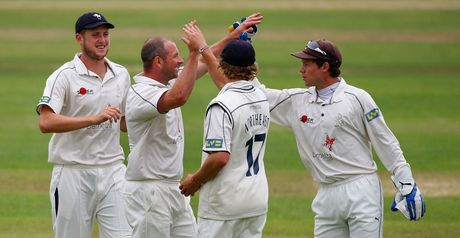 Stevens: 11 wickets in the match