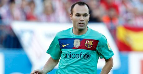 Iniesta: Among the favourites