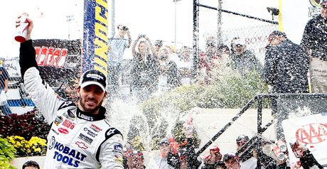 Johnson: has won the last five Sprint Cup titles