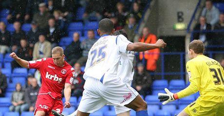 Wagstaff (left): Put Charlton ahead