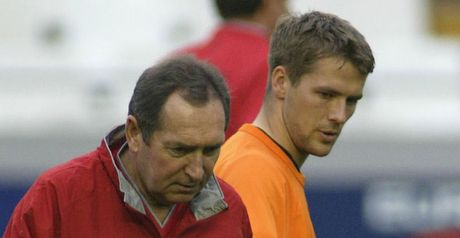 Houllier: With Owen at Liverpool