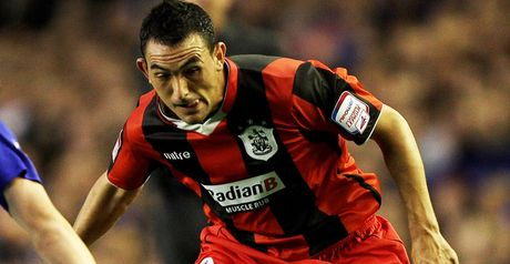 Roberts: Huddersfield winger is in talks over a new deal