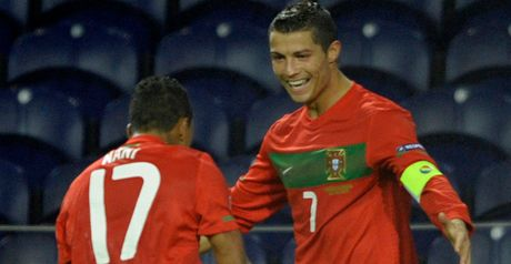 Ronaldo: Scored two and created another as Portugal remained top of Group H