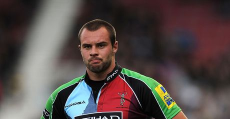 Ross Chisholm: Quins youngster has scored five tries in 24 senior appearances the club