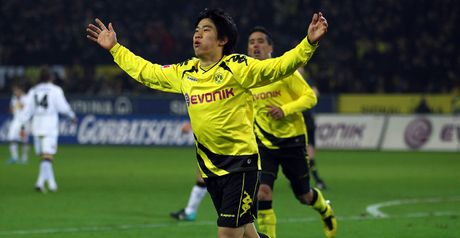 Kagawa: Insists he's happy at Dortmund