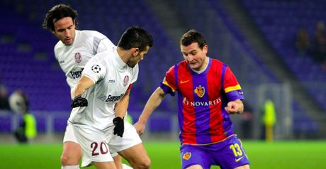 Almerares: Basel's hero battles against the Cluj defence