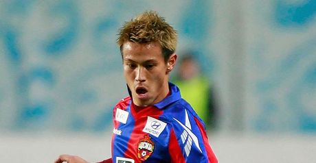 Honda: Happy to stay at CSKA Moscow