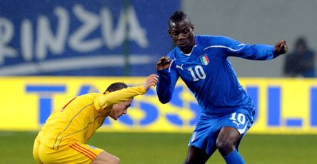 Balotelli: Dropped by Italy