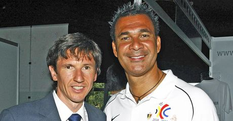 Smertin and Gullit: Vying for votes