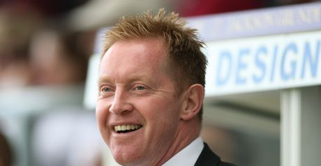 Waddock: Happy with striker's form