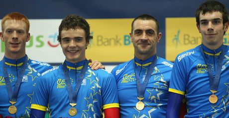 Men's pursuit team: Perfect start