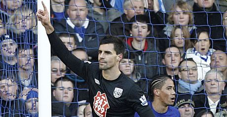 Scharner opens the scoring for West Brom