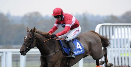 Silviniaco Conti: Puts himself firm in the picture for Cheltenham