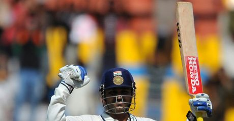 Sehwag: peppered the boundary