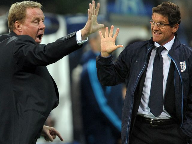 Redknapp and Capello are on Russia's wish-list.