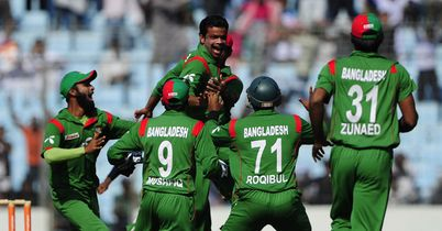 Positive spin: Razzak demolished Zimbabwe's top order